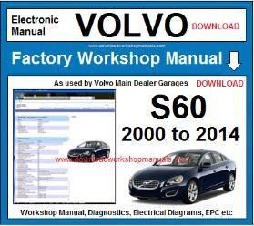 Volvo s60 workshop service repair manual
