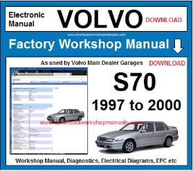 Volvo S70 Workshop Service Repair Manual Download