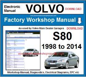 volvo s80 workshop service repair manual download  download workshop manuals .com
