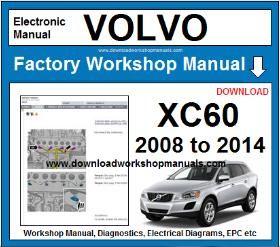 VOLVO XC60 Workshop Service Repair Manual Download