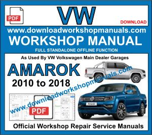 volkswagen Amarok Service repair Workshop manual pdf