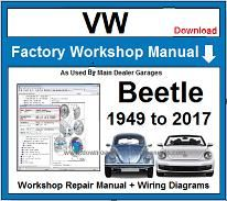 VW Beetle Repair Workshop Manual