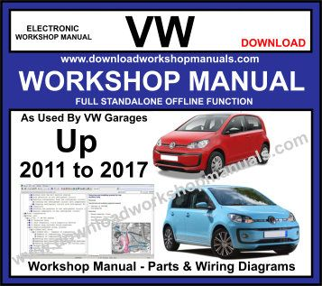 VW UP Workshop Repair Manual Download