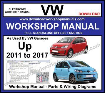 Vw Up Workshop Repair Manual