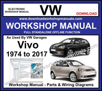 VW Vivo Workshop Repair Manual Download