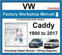 VW Caddy Repair Workshop Manual