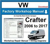 VW Crafter Repair Workshop Manual
