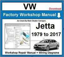 VW Volkswagen Jetta Service Repair Workshop Manual