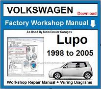VW Lupo Repair Workshop Manual