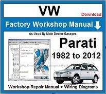 VW Parati Repair Workshop Manual