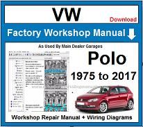 VW Polo Repair Workshop Manual
