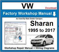 VW Sharan Repair Workshop Manual