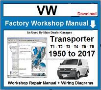 VW Transporter Service Repair Workshop Manual