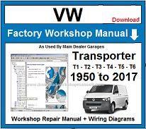 t1 wiring diagram pdf vw transporter workshop service repair manual  vw transporter workshop service repair