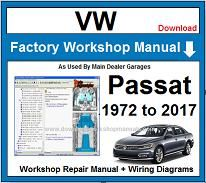VW Volkswagen Passat Service Repair Workshop Manual