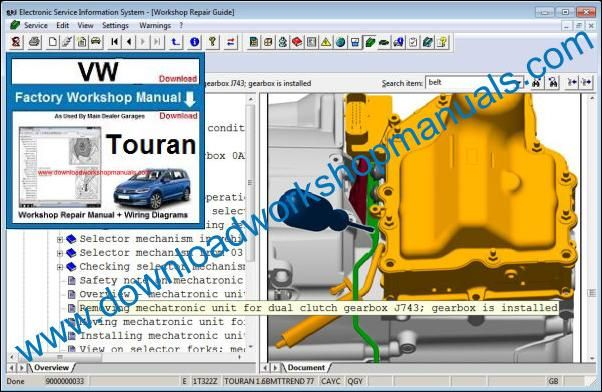 Wiring Diagram Volkswagen Touran