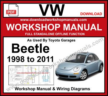 volkswagen beetle pdf Service repair manual