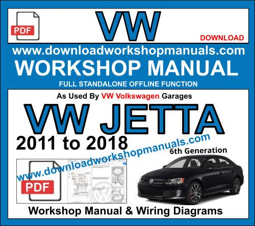 vw volkwagen jetta repair workshop manual pdf