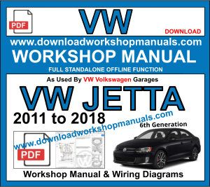 vw Volkswagen jetta service repair workshop manual pdf