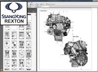 Rexton Ssangyong worshop manual download