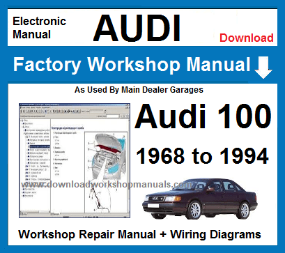 Audi 100 Service Repair Workshop Manual