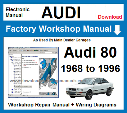 Audi 80 Service Repair Workshop Manual