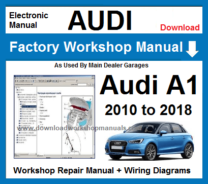Audi A1 Service Repair Workshop Manual