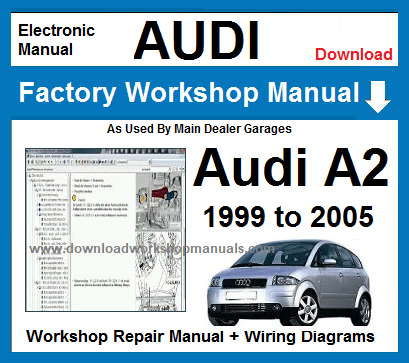 Audi A2 Workshop Repair Manual Download