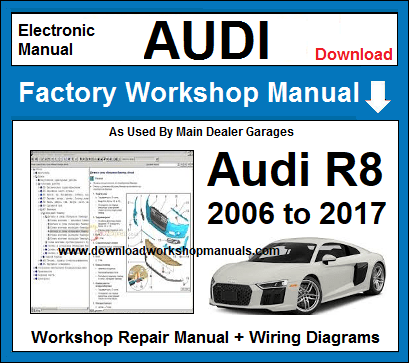 Awe Inspiring Audi R8 Workshop Repair Manual Wiring Cloud Hisonuggs Outletorg