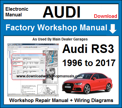 Audi RS3 Service Repair Workshop Manual