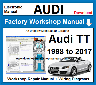 Audi TT Workshop Repair Manual Download