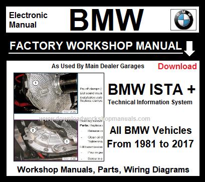 BMW WORKSHOP REPAIR MANUAL