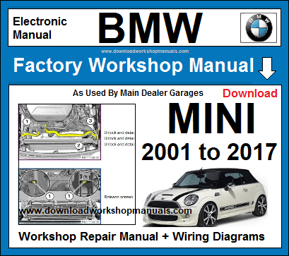 BMW MINI Workshop Service Repair Manual