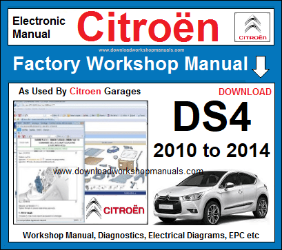 Citroen DS4 Workshop Repair Manual Download