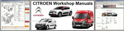 Citroen workshop service repair manual downloads