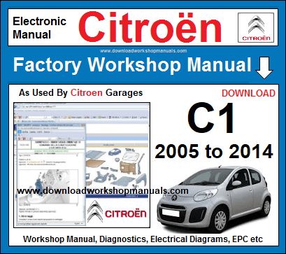 Citroen C1 Workshop Repair Manual Download
