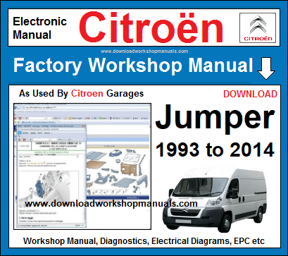 Citroen Jumper Workshop Repair service Manual Download