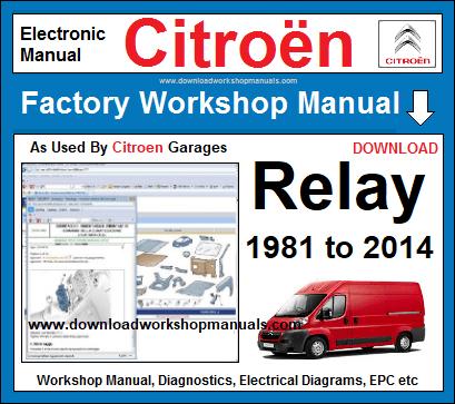 citroen relay workshop repair manualcitroen relay workshop manual download