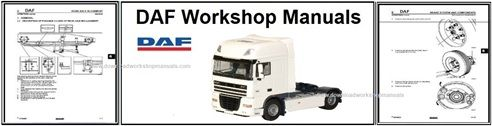 Daf Service Repair Workshop Manuals Download