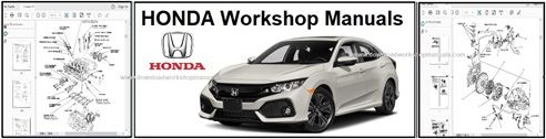 Honda Service Repair Workshop Manuals