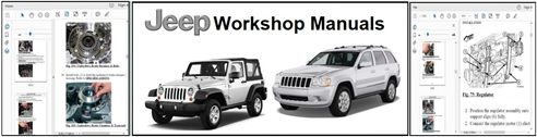 Jeep Service Repair Workshop Manuals Download