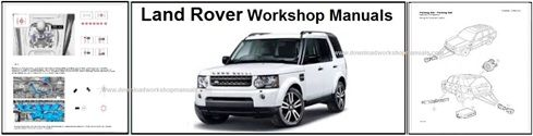 Land Rover Workshop Service Repair Manual Downloads