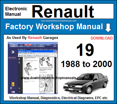 Renault Workshop Repair Manuals