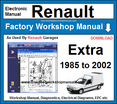 Renault Extra Service Repair Workshop Manual