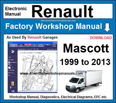 renault mascott workshop service repair manual
