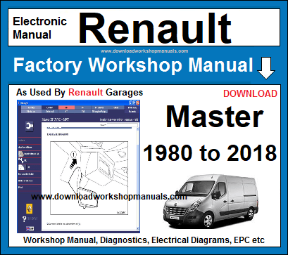 Renault Master Service Repair Workshop Manual