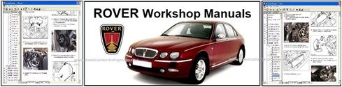 Rover Service Repair Workshop Manual Downloads