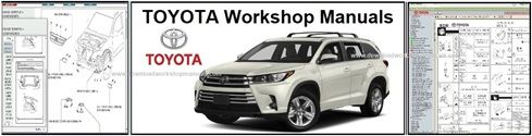 Toyota Service Repair Workshop Manuals