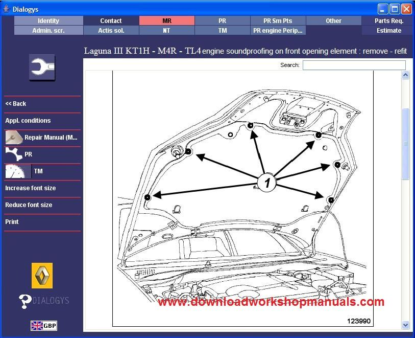 Renault Laguna Workshop Service Repair Manual Download