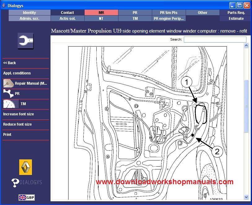 Renault Mascott Workshop Service Repair Manual Download